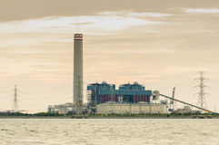 The power station Royalty Free Stock Photo