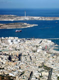 Power Station. Aerial view, Malta Stock Photos