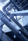 Power station. Tube and detail Stock Photography