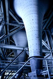 Power station. Tube and detail Royalty Free Stock Photos