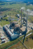 Power Station:Aerial View Stock Images