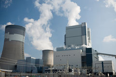 Power station in Belchatow Royalty Free Stock Photo