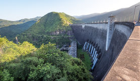 The power station at the Bhumibol Dam Royalty Free Stock Photo