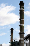 Power Station Chimneys Stock Photography
