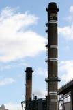Power Station Chimneys stock photography
