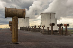 Power station on coal - Poland Stock Images