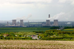 Didcot power station Royalty Free Stock Photos