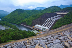 Power station and Dam Stock Photos