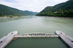 Power station in Donau Stock Photography