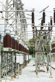 Power station, Electric station Royalty Free Stock Image