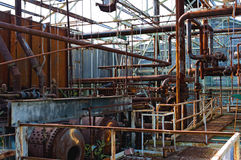 Power station factory Royalty Free Stock Images