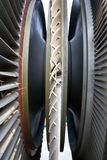 Power station generator turbine Stock Photography