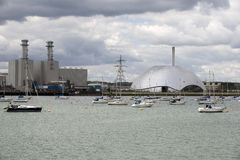 Power Station and Incinerator facility UK Royalty Free Stock Image