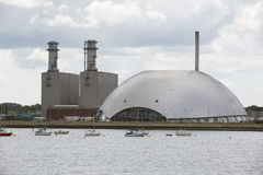 Power Station and Incinerator facility UK Stock Photography