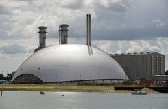 Power Station and Incinerator facility UK Royalty Free Stock Photography