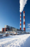 Power station. Industrial production. Royalty Free Stock Photos