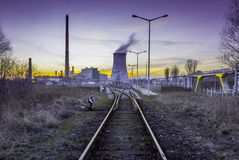 Power station - Industrial view Stock Photo
