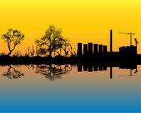 Power Station Landscape Royalty Free Stock Photo