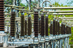 Power station for making electric energy Royalty Free Stock Photography
