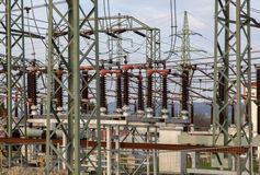 Power station for making electricity. Stock Photography