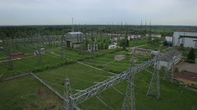Power station for making Electricity stock video footage