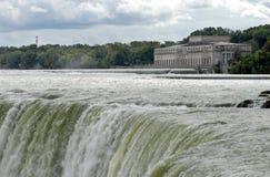 Power station Niagara river Royalty Free Stock Image