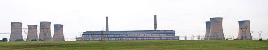 Power Station. Royalty Free Stock Images