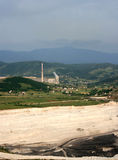 Power station in Pljevlja. Coal fired power station in Pljevlja, Montenegro Royalty Free Stock Photos