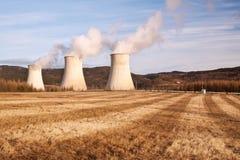 The power station Prunerov Stock Image