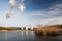 The power station Prunerov Stock Photo