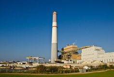 Power Station. The Reading Power Station of Tel Aviv, Israel Stock Images