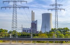 Power station royalty free stock images