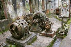Power station ruins II Stock Image