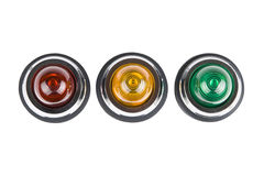 Power status indicator light Royalty Free Stock Photo