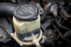 Power steering fluid Stock Photo