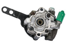 Power steering pump Stock Image