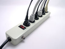 Power Strip - 1 Royalty Free Stock Image