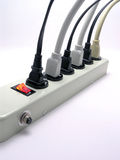 Power Strip - 2 Royalty Free Stock Photos