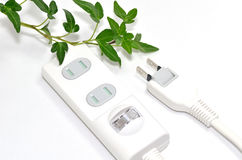 Power strip. Royalty Free Stock Photos