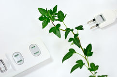 Power strip. Royalty Free Stock Photography