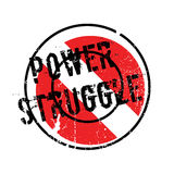 Power Struggle rubber stamp Royalty Free Stock Photos