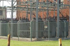 Power Substation Stock Photography