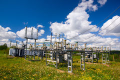 Power substation Royalty Free Stock Image