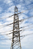 Power Substation Silhouette Royalty Free Stock Photo