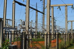 Power substation Royalty Free Stock Photography