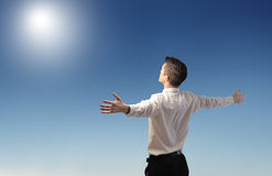 Power of sun Stock Photography