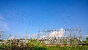 Power supply authority Royalty Free Stock Photo