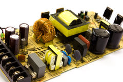 Power supply board Stock Photo