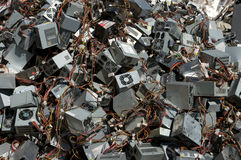 Power supply boxes Stock Images