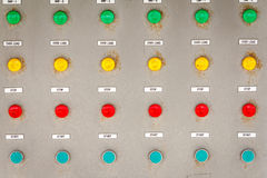 Power Supply Button Stock Photography